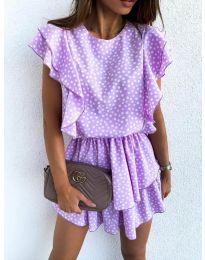 Φόρεμα - κώδ. 7740 - μωβ