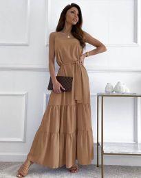 Φόρεμα - κώδ. 2578 - καπουτσίνο