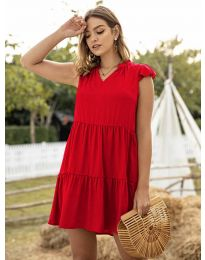 Φόρεμα - κώδ. 696 - κόκκινο