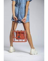 Τσάντα - κώδ. LS543 - πορτοκαλί