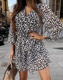 Φόρεμα - κώδ. 4589 - 1 - πολύχρωμο