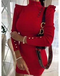 Φόρεμα - κώδ. 8484 - κόκκινο