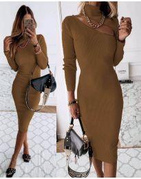 Φόρεμα - κώδ. 149 - καφέ