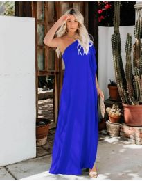 Φόρεμα - κώδ. 5858 - μπλε