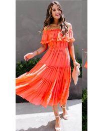 Φόρεμα - κώδ. 699 - πορτοκαλί