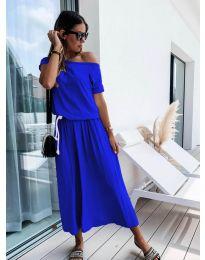 Φόρεμα - κώδ. 4151 - μπλε