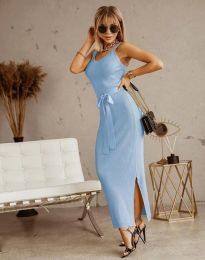 Φόρεμα - κώδ. 6166 - γαλάζιο