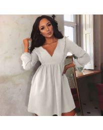 Φόρεμα - κώδ. 0588 - λευκό