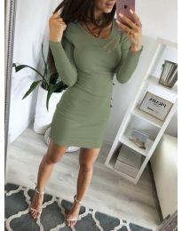 Φόρεμα - κώδ. 3298 - πράσινο