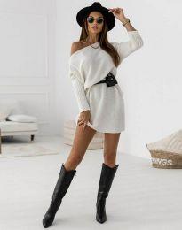 Φόρεμα - κώδ. 6940 - λευκό