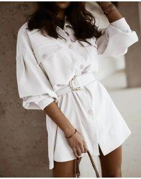 Φόρεμα - κώδ. 6461 - λευκό