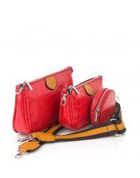Τσάντα - κώδ. NH2889 - κόκκινο