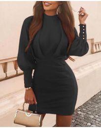 Φόρεμα - κώδ. 4016 - μαύρο