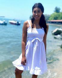 Φόρεμα - κώδ. 8113 - 2 - λευκό