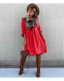 Φόρεμα - κώδ. 958 - κόκκινο