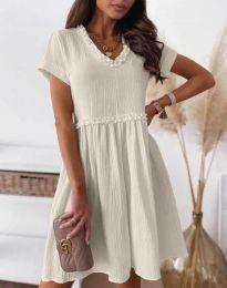 Φόρεμα - κώδ. 1679 - 4 -  σαμπανιζέ