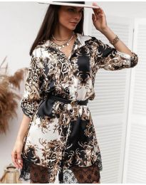 Φόρεμα - κώδ. 3635 - 1 - πολύχρωμο