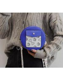 Τσάντα - κώδ. B163 - μπλε