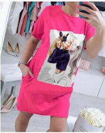 Φόρεμα - κώδ. 619 - φουξια