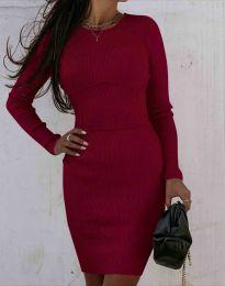 Φόρεμα - κώδ. 0891 - μπορντό