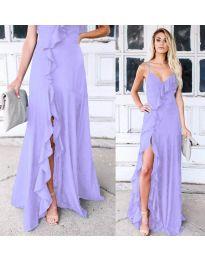 Φόρεμα - κώδ. 4488 - μωβ