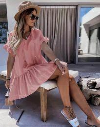 Φόρεμα - κώδ. 6144 - πούδρα