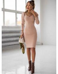 Φόρεμα - κώδ. 11548 - πούδρα
