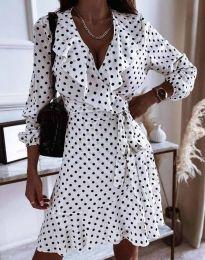 Φόρεμα - κώδ. 0438 - λευκό