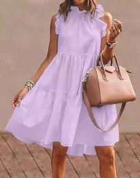 Φόρεμα - κώδ. 2663 - μωβ