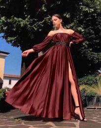 Φόρεμα - κώδ. 1879 - μπορντό