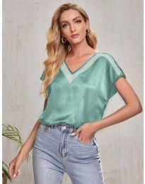 Κοντομάνικο μπλουζάκι - κώδ. 5754 - πράσινο
