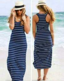 Φόρεμα - κώδ. 0712 - 1 - σκούρο μπλε