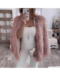 Παλτό - κώδ. 4767 - ροζ