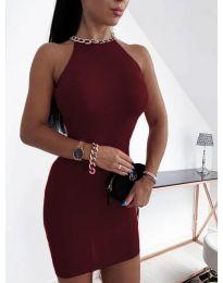 Φόρεμα - κώδ. 9690 - μπορντό