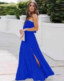 Φόρεμα - κώδ. 8871 - σκούρο μπλε