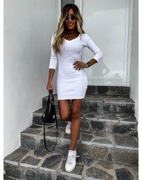 Φόρεμα - κώδ. 4040 - λευκό