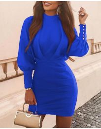 Φόρεμα - κώδ. 4016 - μπλε