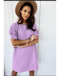 Φόρεμα - κώδ. 9868 - μωβ