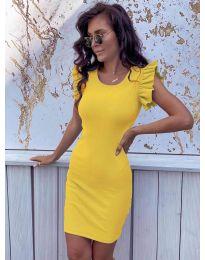 Φόρεμα - κώδ. 199 - κίτρινο