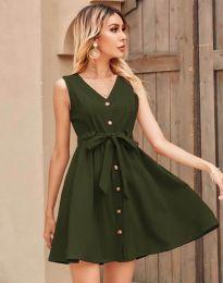 Φόρεμα - κώδ. 8188 - λαδί