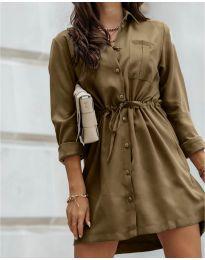 Φόρεμα - κώδ. 132 - καφέ