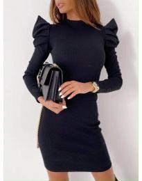 Φόρεμα - κώδ. 9303 - 4 - μαύρο