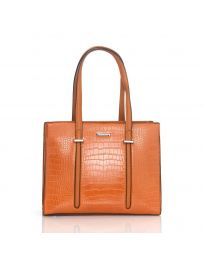 Τσάντα - κώδ. HS8105 - πορτοκαλί