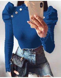 Μπλούζα - κώδ. 9630 - 4 - μπλε