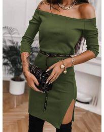 Φόρεμα - κώδ. 4720 - χακί