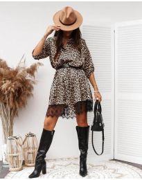 Φόρεμα - κώδ. 3635 - 2 - πολύχρωμο