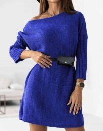Φόρεμα - κώδ. 5142 - σκούρο μπλε