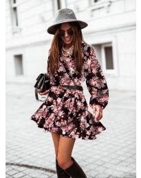 Φόρεμα - κώδ. 134 - 1 - πολύχρωμο
