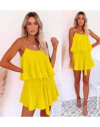 Φόρεμα-κωδ.721-κίτρινο