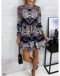 Φόρεμα - κώδ. 7272 - 1 - πολύχρωμο